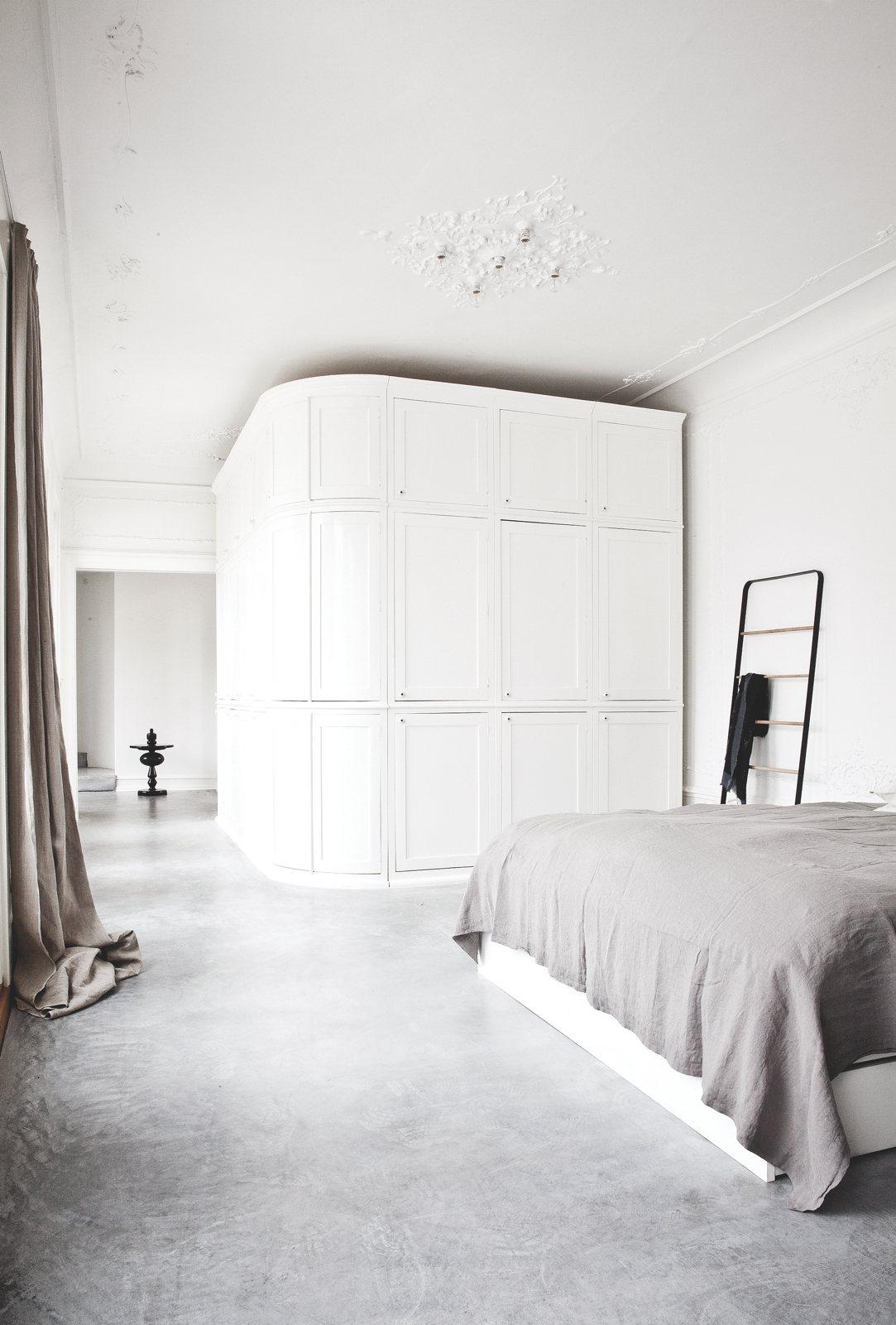 Slaapkamer ideeën gietvloer