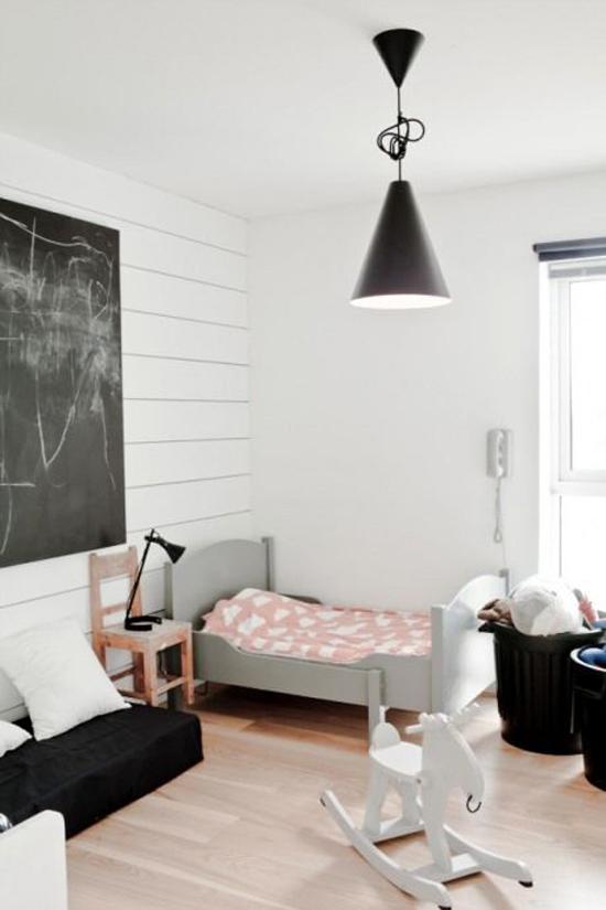 Slaapkamer Ideeen Kinderkamer: Babykamer landelijk grijs interieur amp ...