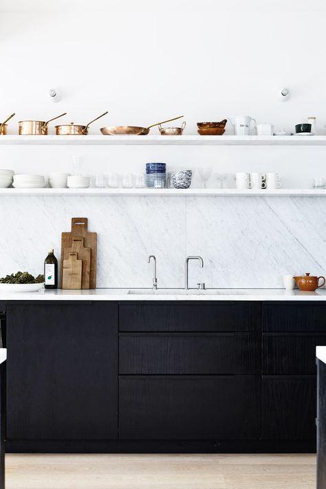 10x Mooie Zwarte Keukens Wooninspiratie