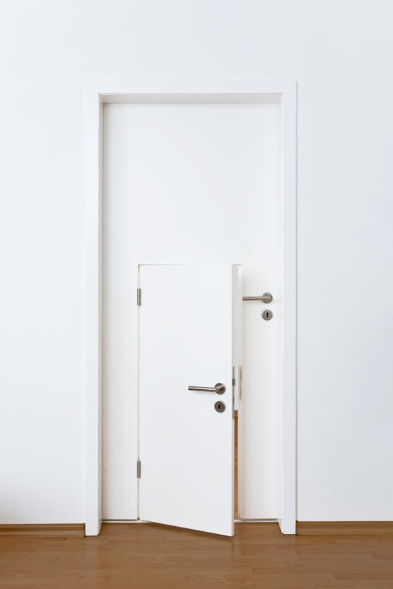 Peuterkamer tips deurtje
