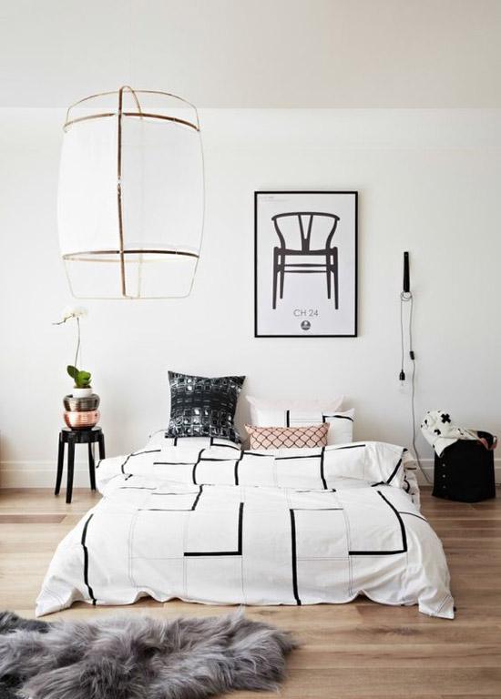 Slaapkamer ideeën op de grond slapen