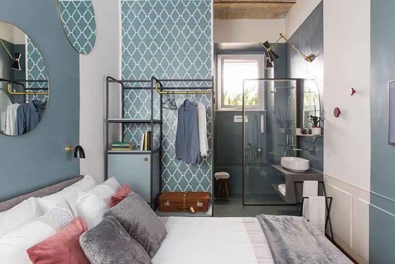 Slaapkamer ideeën hotel chique