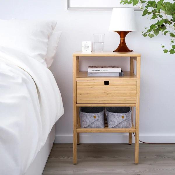 15 x Ikea nachtkastjes - Nordiska
