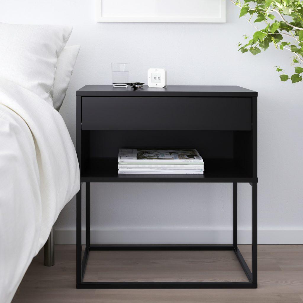 15 x Ikea nachtkastjes - Vikhammer