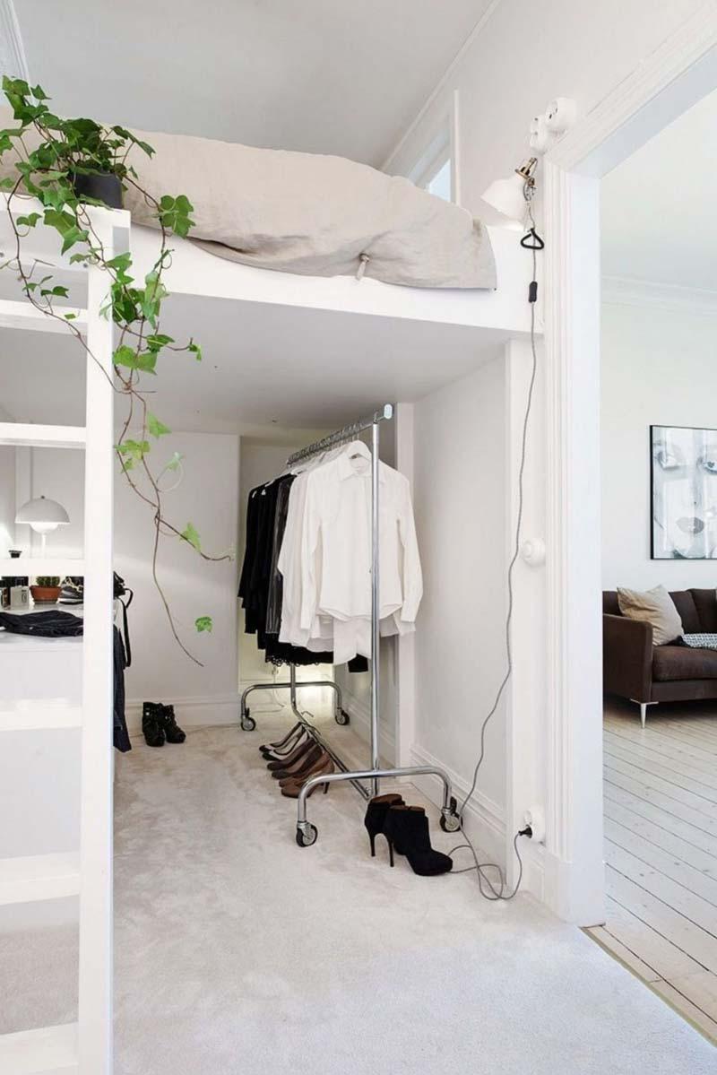 Slaapkamer ideeën hoogslaper
