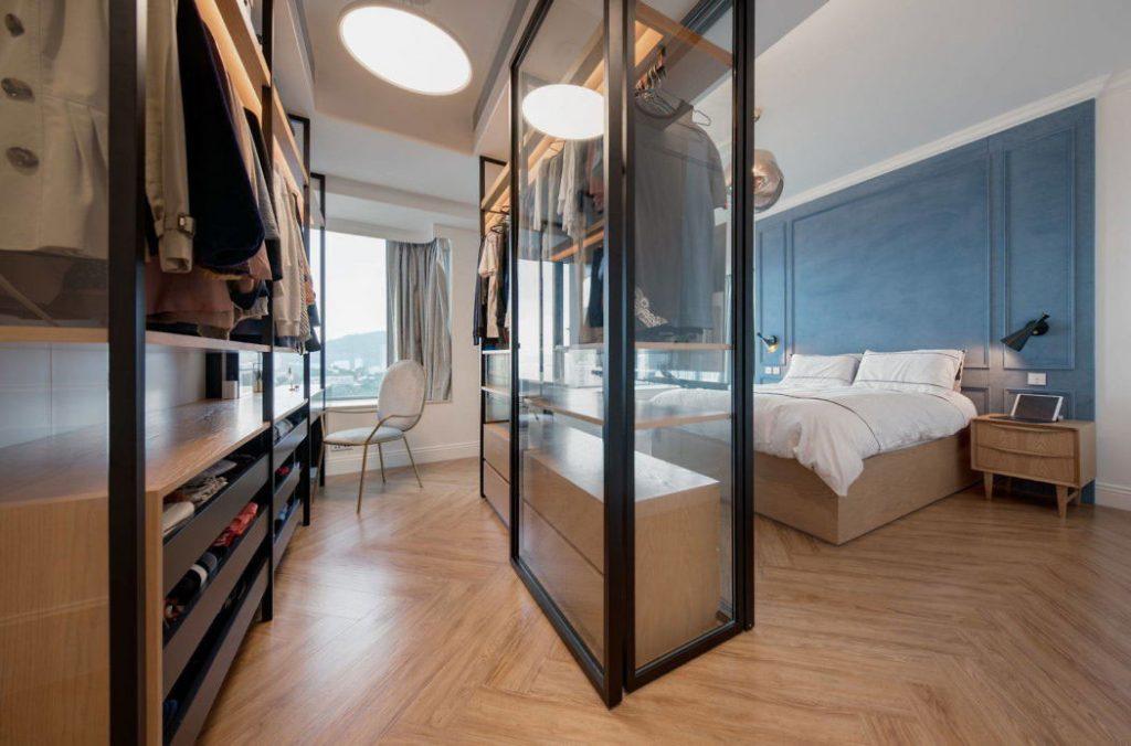 Slaapkamer ideeën inloopkast