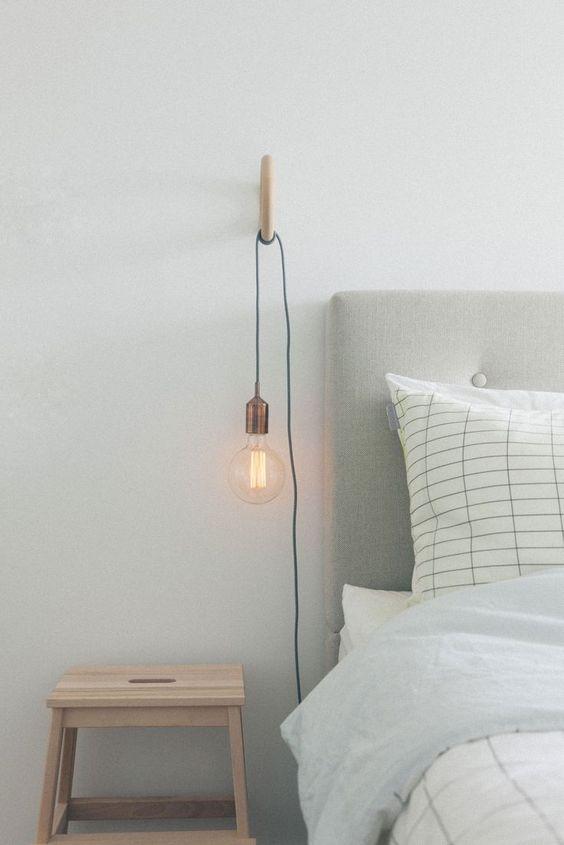 Slaapkamer ideeën nachtlamp