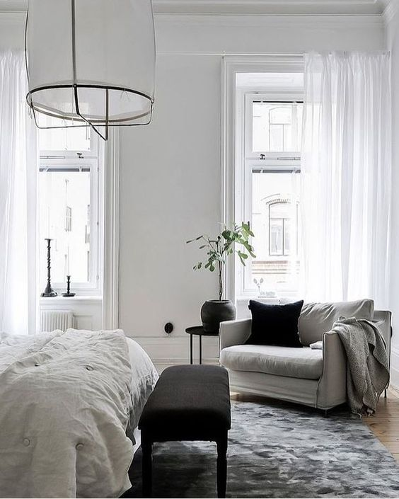 Slaapkamer ideeën zithoek