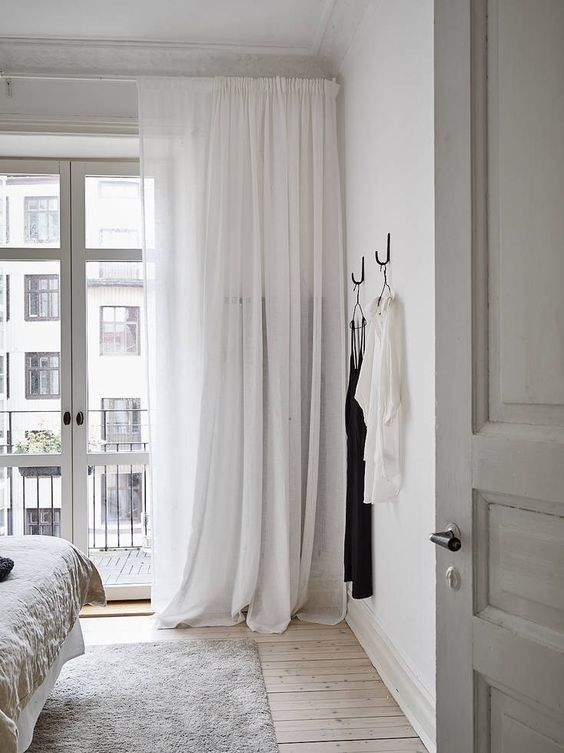 Slaapkamer ideeën raamdecoratie