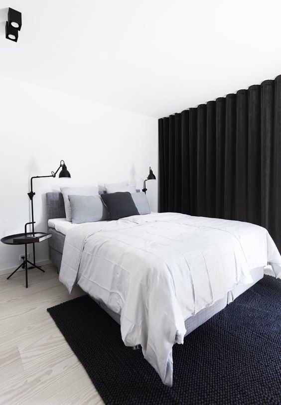 Slaapkamer ideeën gordijnen