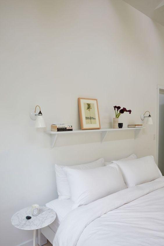 Slaapkamer ideeën wandplank