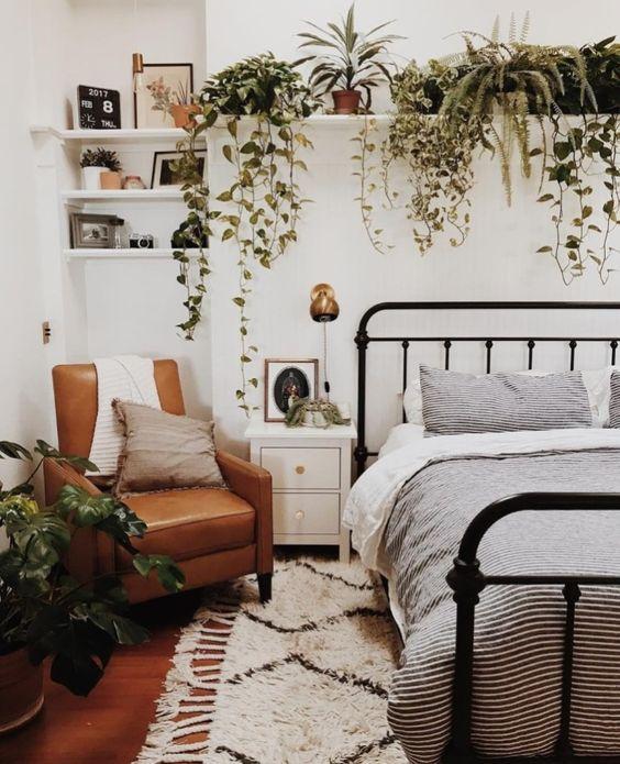 Slaapkamer ideeën planten
