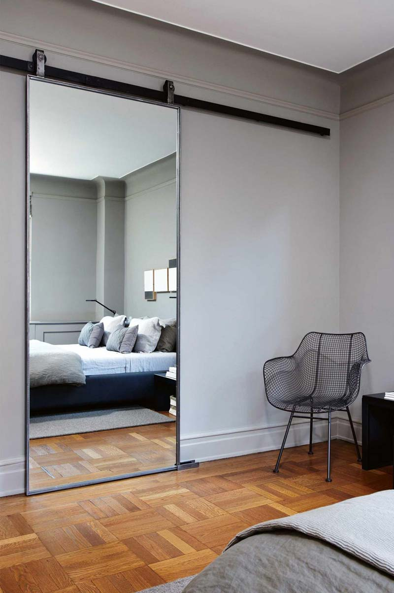 Slaapkamer ideeën spiegel