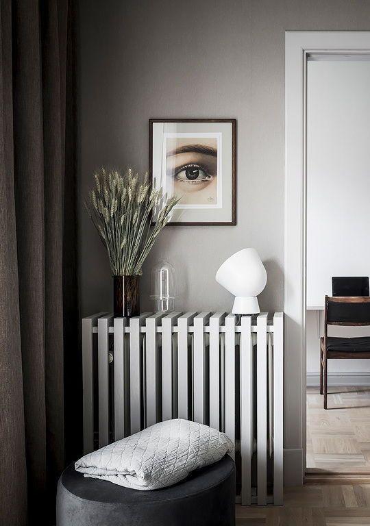 Slaapkamer ideeën radiator