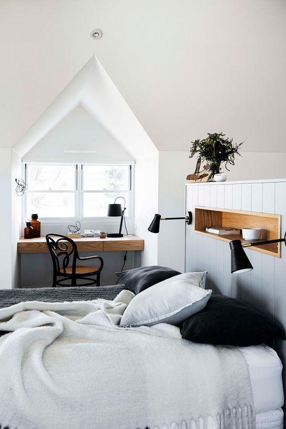 Slaapkamer ideeën dakkapel