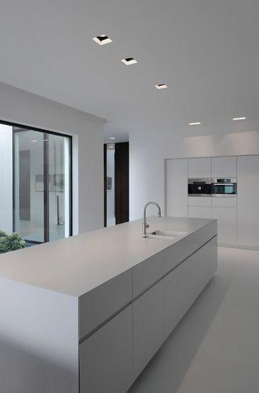 8x minimalistische witte keuken wooninspiratie Cuisine minimaliste