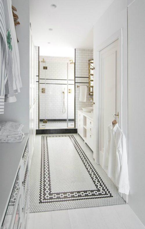Badkamer ideeën badkamer met inloopkast