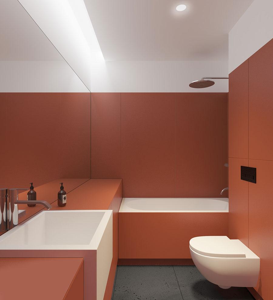 Badkamer ideeën bijzondere kleur