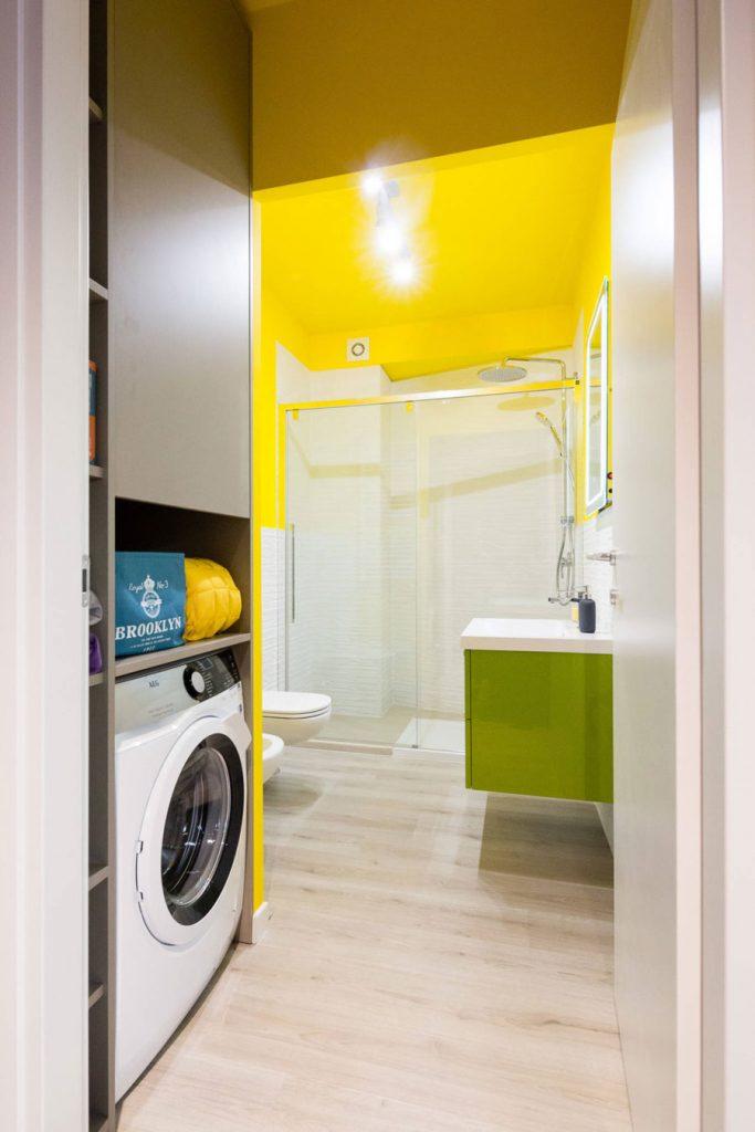 Badkamer ideeën felle kleuren