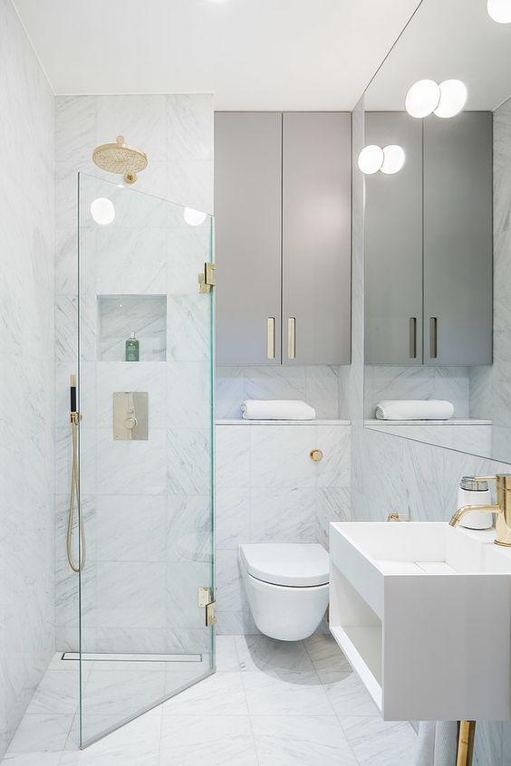 Badkamer ideeën kleine badkamer chic