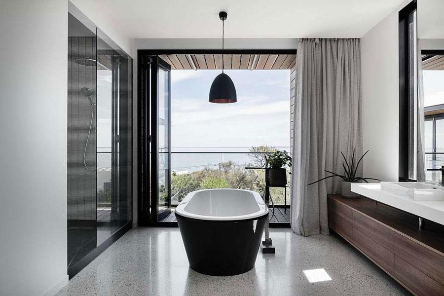 Badkamer ideeën moderne stijl chic