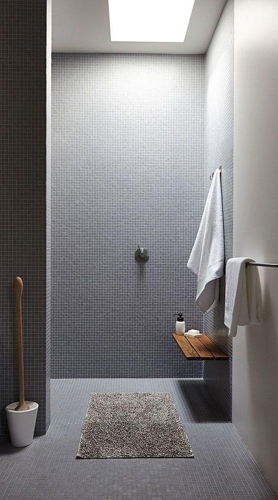Badkamer ideeën mozaiektegels