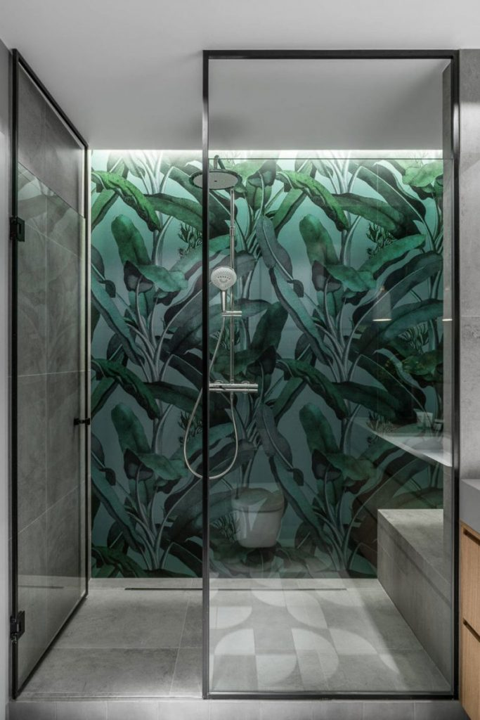 Badkamer ideeën stijl botanisch