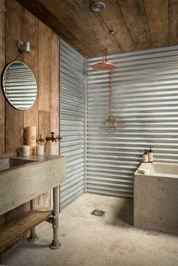 Badkamer ideeën stijl industrieel