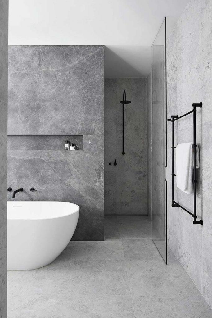 Badkamer ideeën stijl minimalistisch