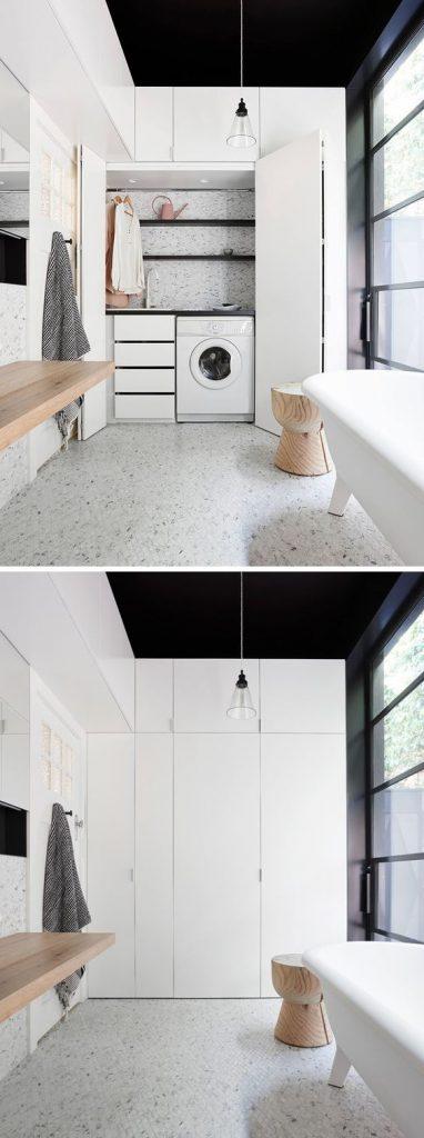 Badkamer ideeën wasmachine