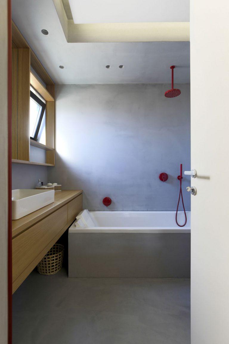 Badkamers met voorbeelden betonstuc