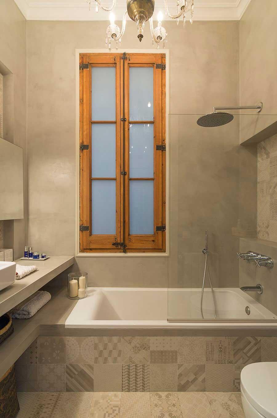Badkamers met voorbeelden douche bad combinatie