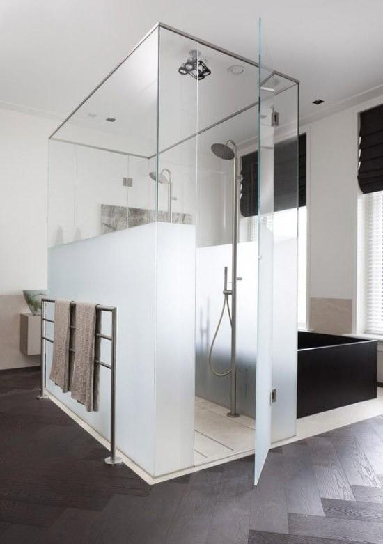Badkamers met voorbeelden douchecabine