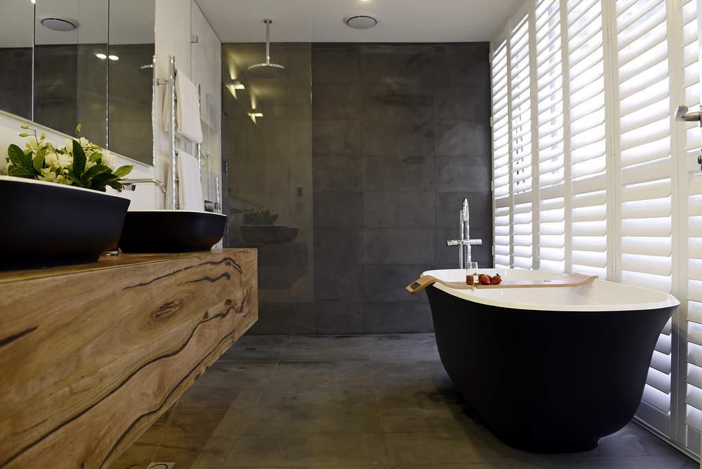 Badkamers met voorbeelden hout
