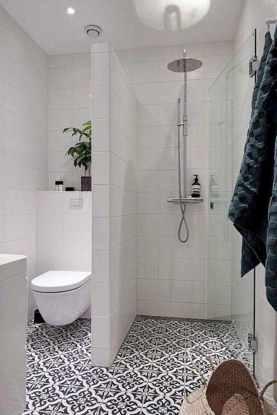 Badkamers met voorbeelden inloopdouche