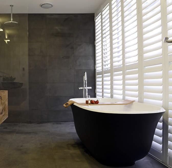 Badkamers met voorbeelden shutters