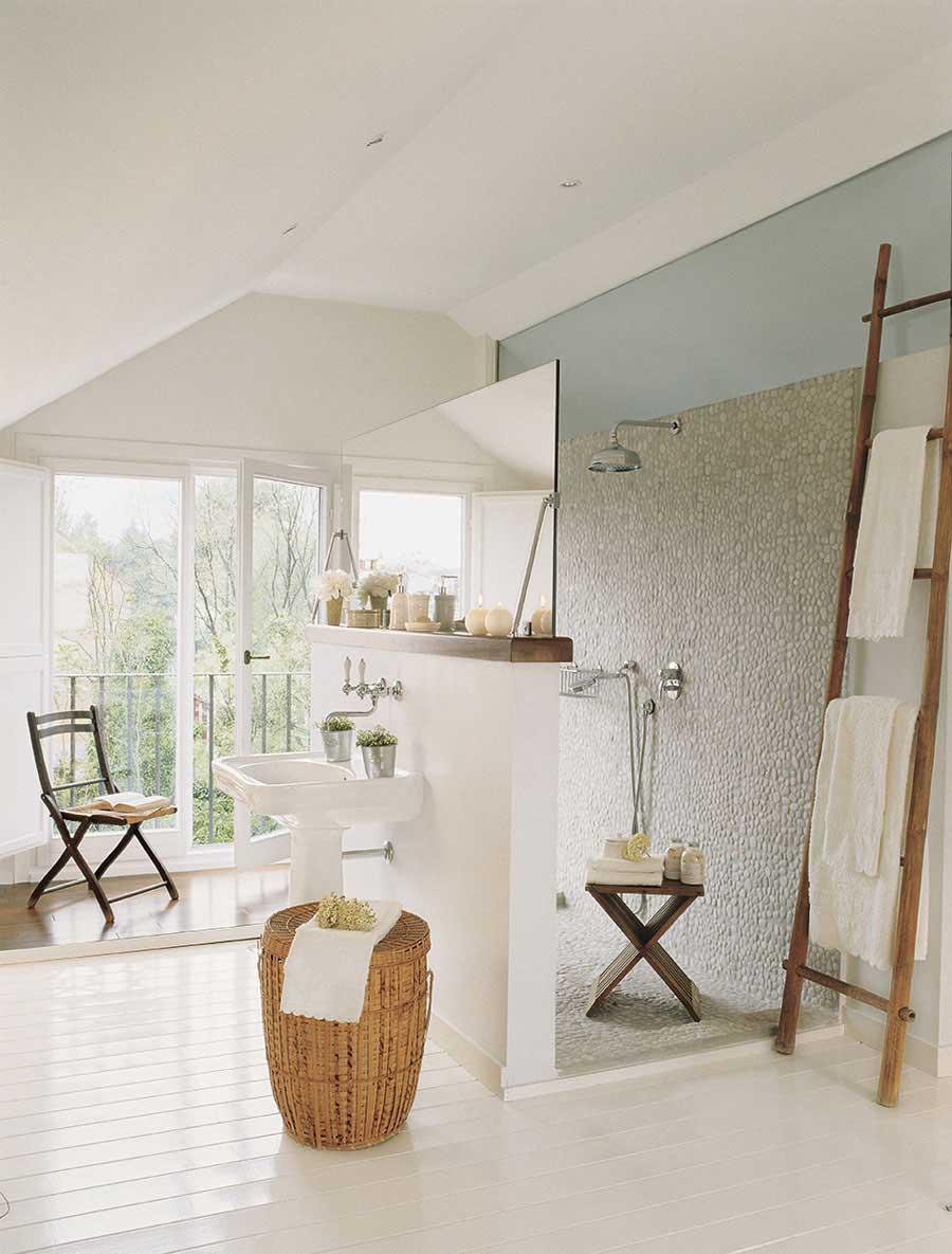 Badkamers met voorbeelden ventilatie