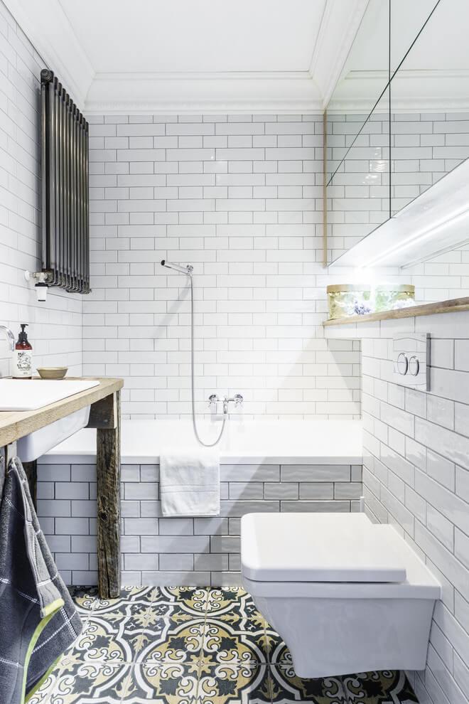 Badkamers met voorbeelden verwarming