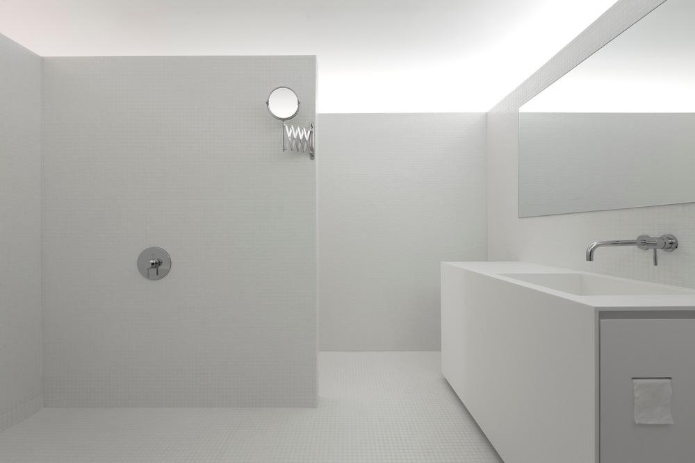 Badkamers met voorbeelden wit