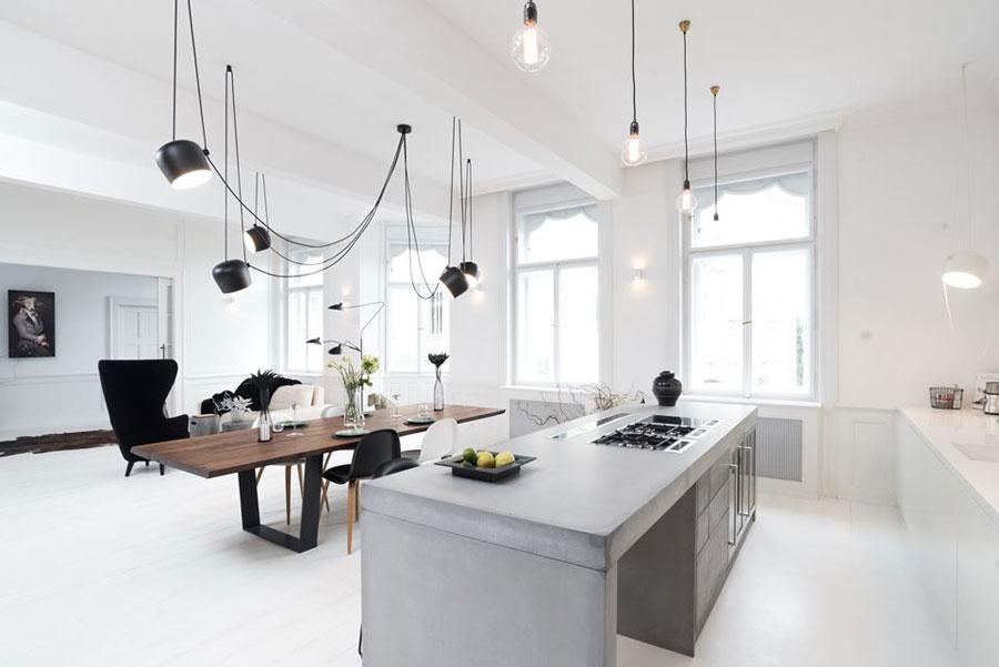 Werkbladen keuken beton