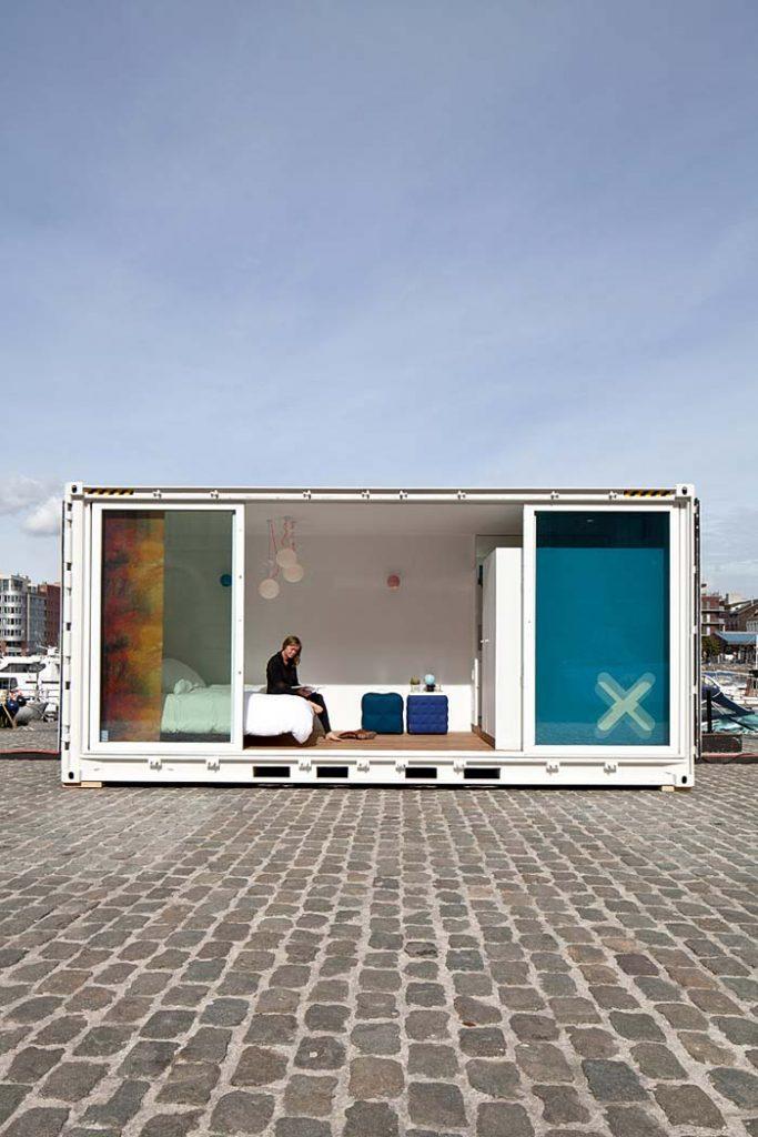 Containerwoningen Container als studio