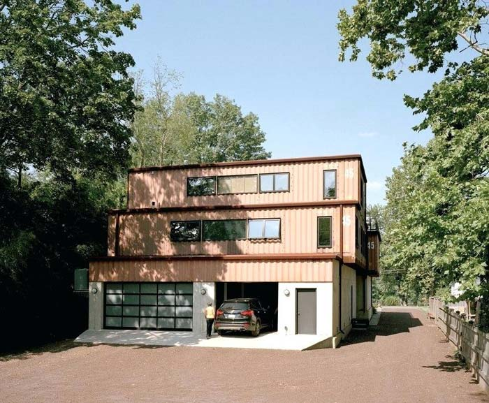 Containerwoningen Familiewoning