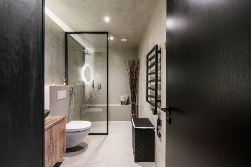 Containerwoningen Kleine badkamer