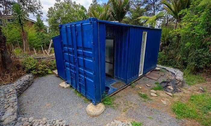 Containerwoningen Kleine containerwoning