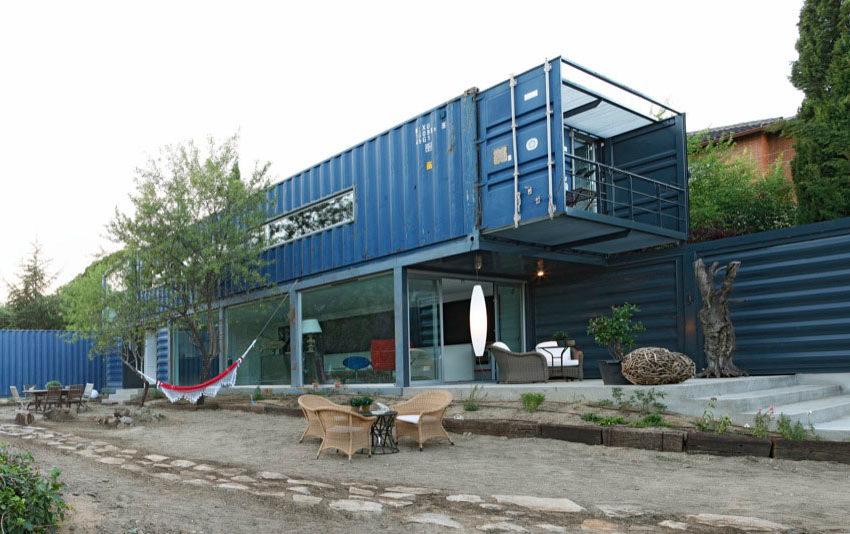 Containerwoningen Scheepscontainer huis