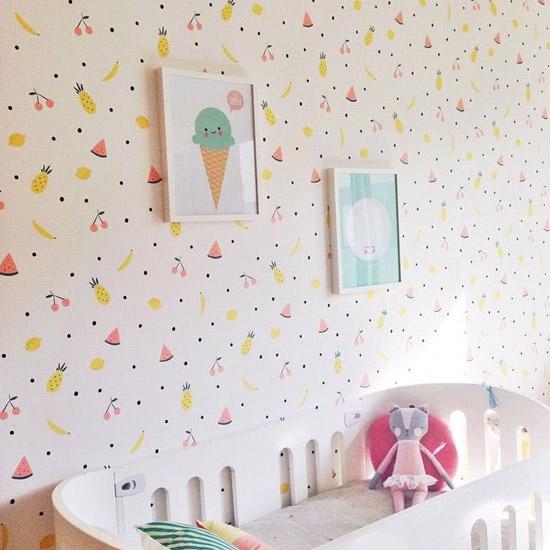 Welke behang vinden jullie het leukst voor de kinderkamer?