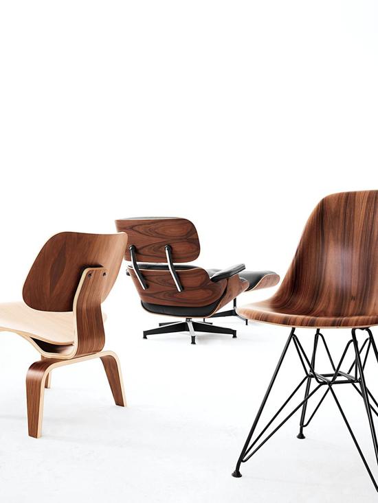Eames stoel wooninspiratie for Ray eames stoelen