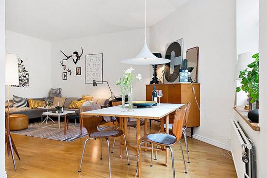 Een Deense woonkamer   Wooninspiratie