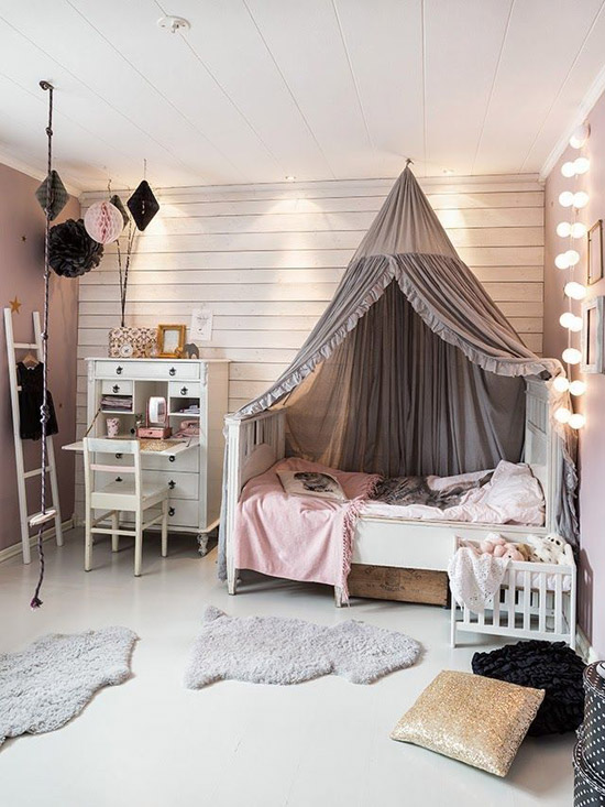 Een echte meidenkamer wooninspiratie for Girl room ideas pinterest