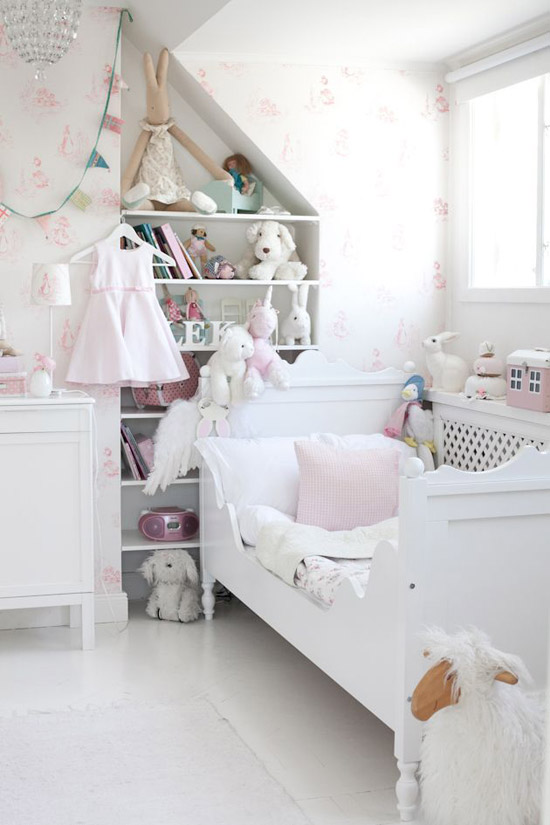 Een echte meidenkamer wooninspiratie for Cute kid rooms